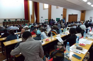 People's Conference organized by Mozambican farmers  civil society organizations. The governments of Mozambique, Brazil and  Japan and JICA also attended it.