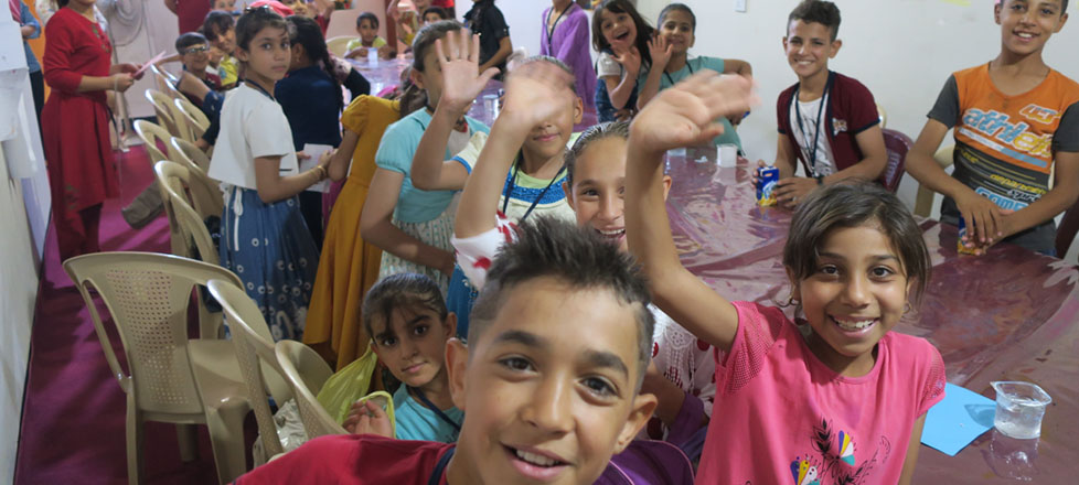 Join our Crowdfunding project for Iraqi Children!